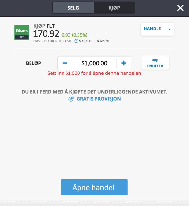 kjøp obligasjon etoro