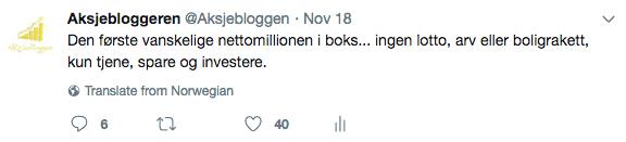 bli millionær