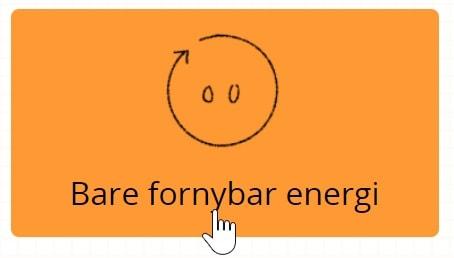 bare fornybar energi