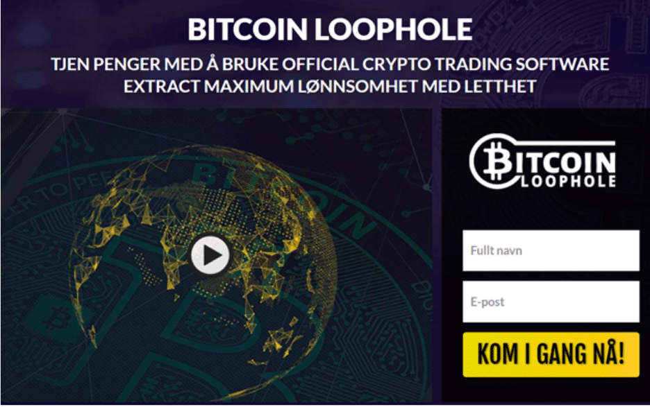 bitcoin loophole anmeldelse