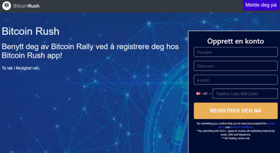 bitcoin rush erfaringer
