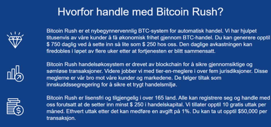 hvorfor handle med bitcoin rush