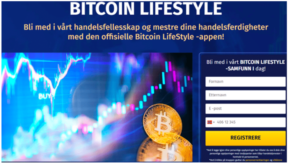 opprett konto hos bitcoin lifestyle