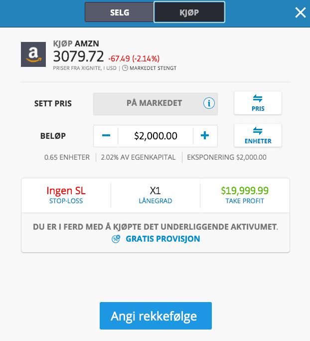 amzn kjøp etoro