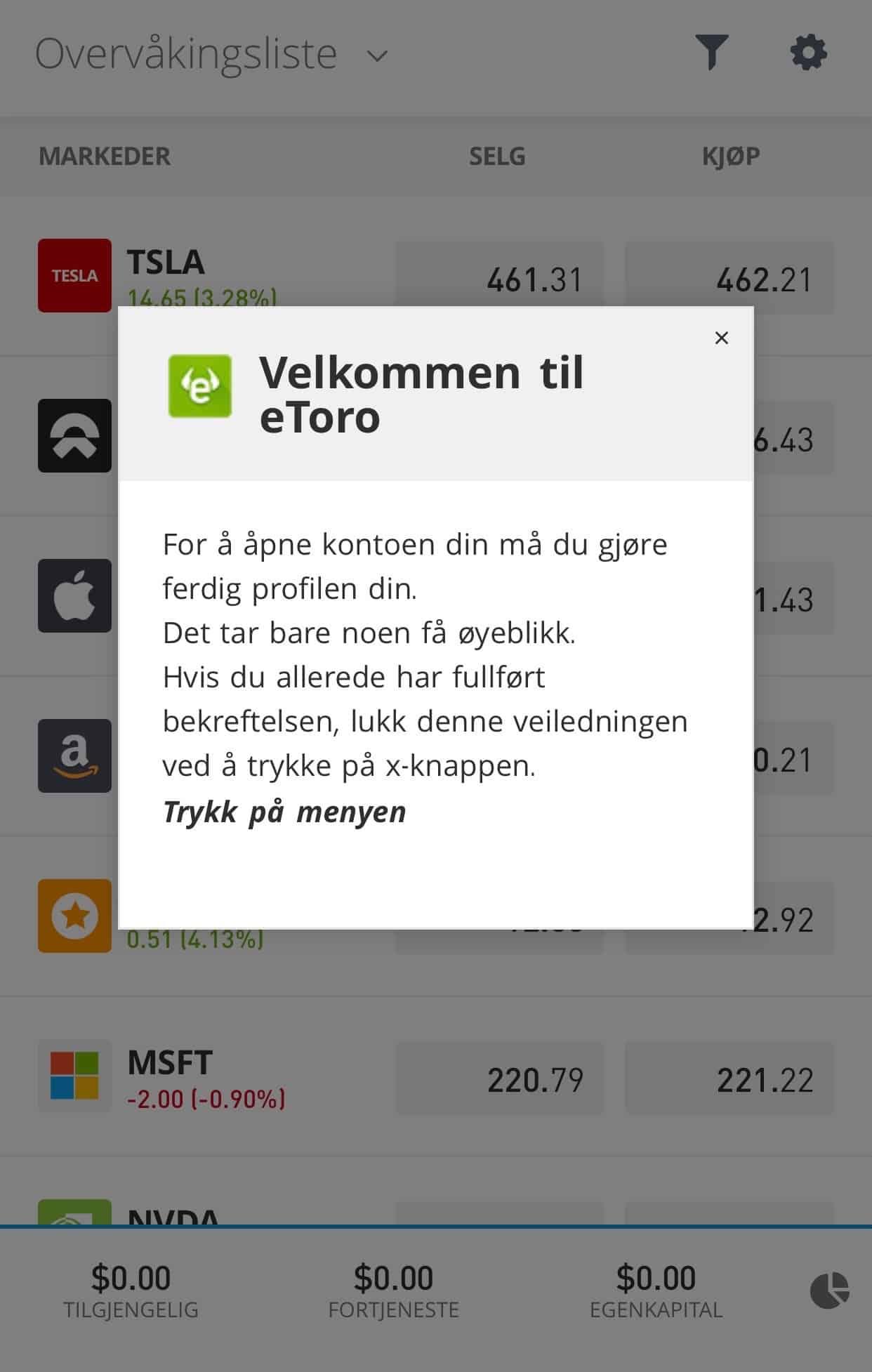 etoro trading app