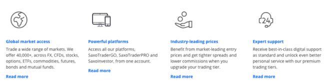 Saxo Bank tilbud
