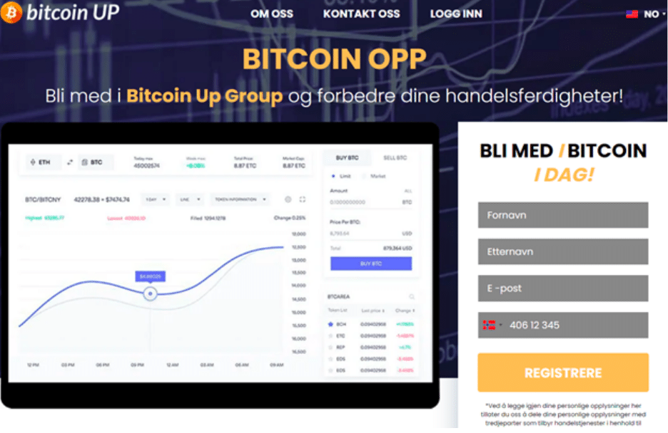 bitcoin up anmeldelse