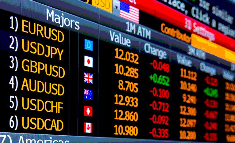 Valutahandel børs