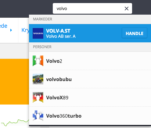 Volvo etoro