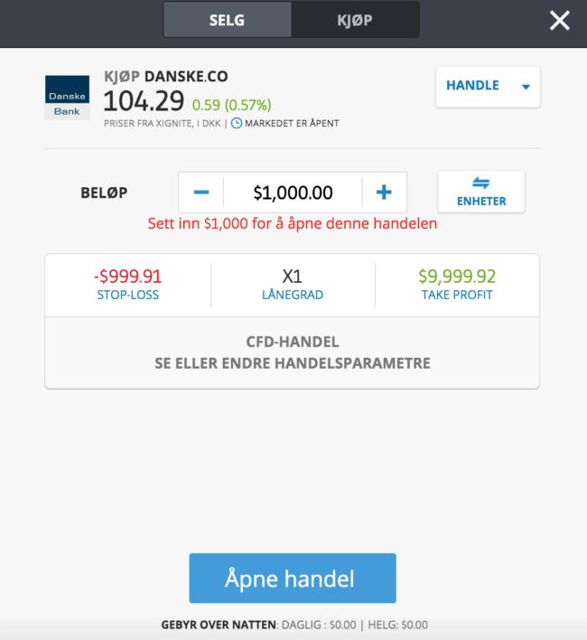 danske bank etoro