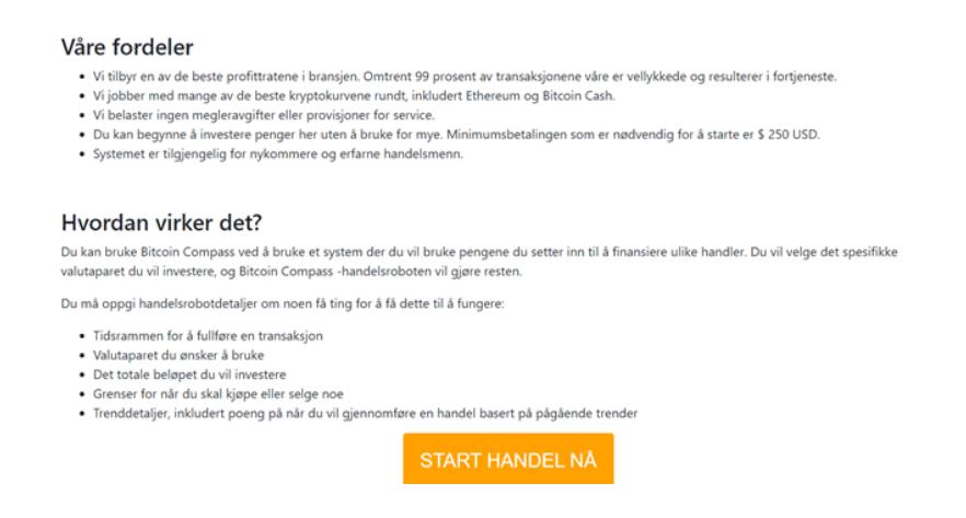 bitcoin compass fordeler og ulemper