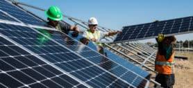Solenergi aksjer
