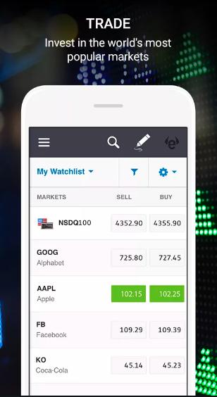trading app etoro