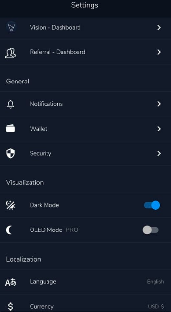 vision wallet review