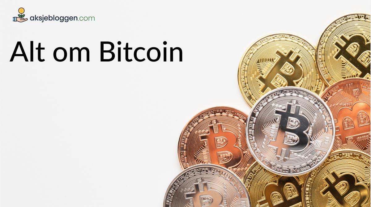 alt om bitcoin