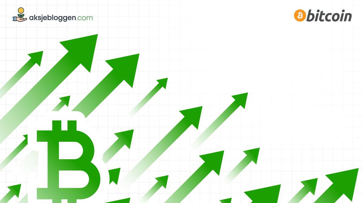 bitcoin eventyrlig vekst