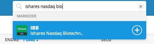 invester i biotek etf